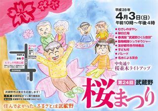 第24回 武蔵野 桜まつり