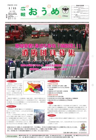 広報おうめ 平成30年1月15日号