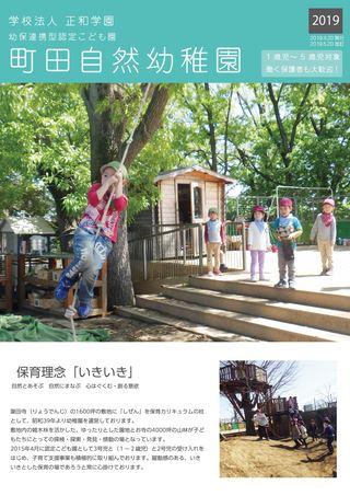 学校法人 正和学園 幼保連携型認定こども園 町田自然幼稚園 2019年度