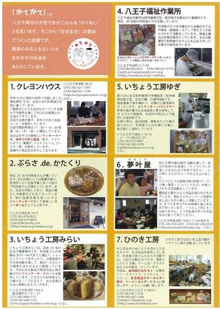 かてかてマップ (八王子ワークセンター)