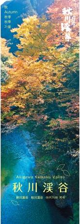 秋川渓谷 秋-冬 パンフレット(A3版)